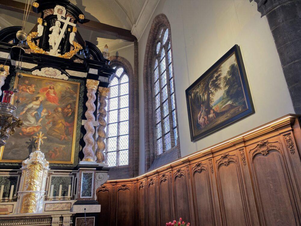 VOLT elektriciteit Knokke project kerk